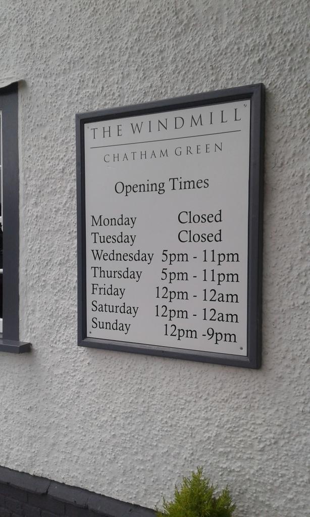 Windmill times